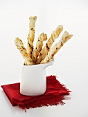 Cheese straws with herbs