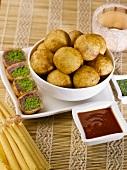 Tirangi (Stuffed pastry balls, India)