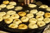 Bunyols (Doughnuts from Majorca)