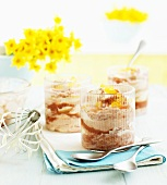 Rhubarb and ginger fool for Easter