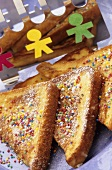 French toast with sprinkles