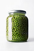 Peas in a jar