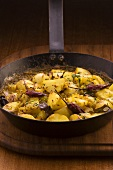 Potato curry with chillies (Mauritius)