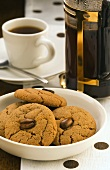 Espresso and coffee biscuits