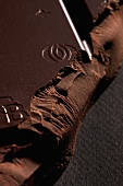 Dark chocolate (close-up)