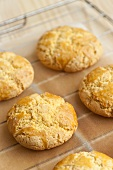 Broa (Corn biscuits with anise, Brazil)