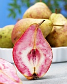 Pink-fleshed pear (Blood pear)