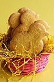 Chick biscuits in Easter nest