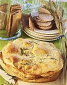 Flatbread (Sardinia) and crispbread (Sweden)