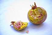 Pomegranate, broken open