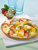 Fruity pizza
