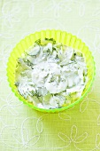 Mizeria (Cucumber salad with sour cream and dill, Poland)