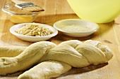 Bread plait (unbaked)