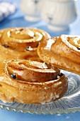 Swabian Schneckennudeln (type of cinnamon bun)