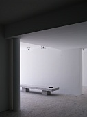 Innenraum eines Architektenhauses