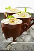 Iced coffee dessert