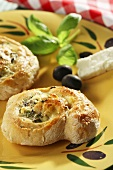 Olive pinwheels for diabetics