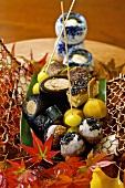 Japanese appetiser platter