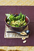 Green vegetable curry with broccoli
