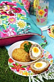 Scotch eggs for a picnic