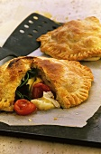 Cheese and tomato pies