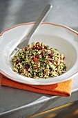 Tabbouleh with vegetables