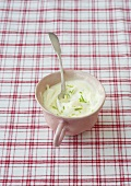 Lime mascarpone topping for cupcakes