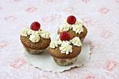 Vanilla coffee cupcakes