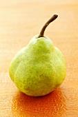 A green pear