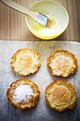 Filo pastry tartlets