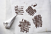 Making chocolate lattices