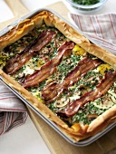 Bacon and Egg Pie (Schinken-Ei-Pastete, Grossbritannien)