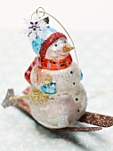 Christmas tree ornament (snowman)