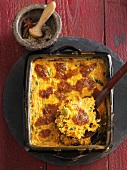 Pumpkin gratin with Provençal seasonings