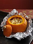 Swiss-style pumpkin