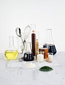 Various ingredients from the area of molecular gastronomy