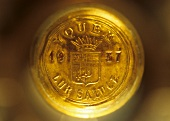 Château d'Yquem wine bottle with intact capsule, 1937