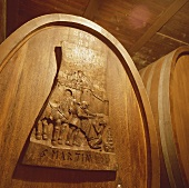 Weinkeller, Domaine du Mont D'Or, Wallis, Schweiz