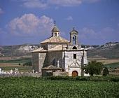 Chapel near Pesquera de Duero, Ribera del Duero, Spain