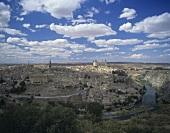 The city of Toledo, Castile-La Mancha, Spain