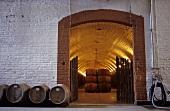 Keller vom Weingut Don Maximiano von Vina Errazuriz, Chile