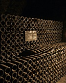 Bottle cellar, Bollinger, Ay, Champagne, France