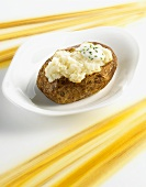 Baked Potato mit Saurer Sahne