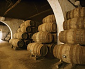 Port wine in barrels, Taylor's Lodge, Vila Nova de Gaia, Portugal
