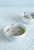 Chestnut milk soup