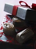 Pralines as a gift