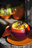 Stuffed Hokkaido pumpkin