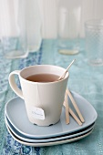 A cup of 'patience' tea