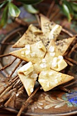 Pinwheels with poppy seeds and cheese