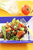 Beef fillet Mandarin style
